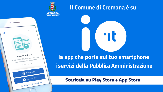 App IO disponibile su play store e app store