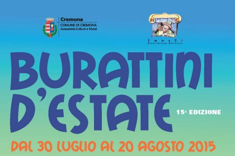 Logo Burattini estate 2015