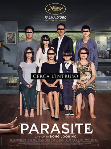 Sere d'estate. Cinema all'aperto. Parasite - Proiezione