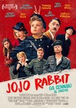 Locandina - Sere d'estate: Cinema all'aperto. JoJo rabbit